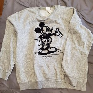 H&M Tops - H&M Mickey Mouse Sweatshirt